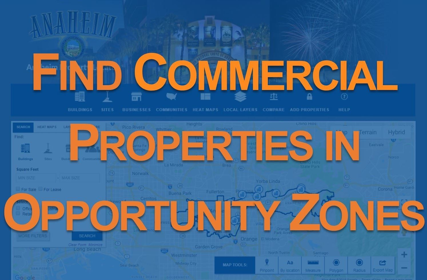 Find Commercial Properties in Opportunity Zones