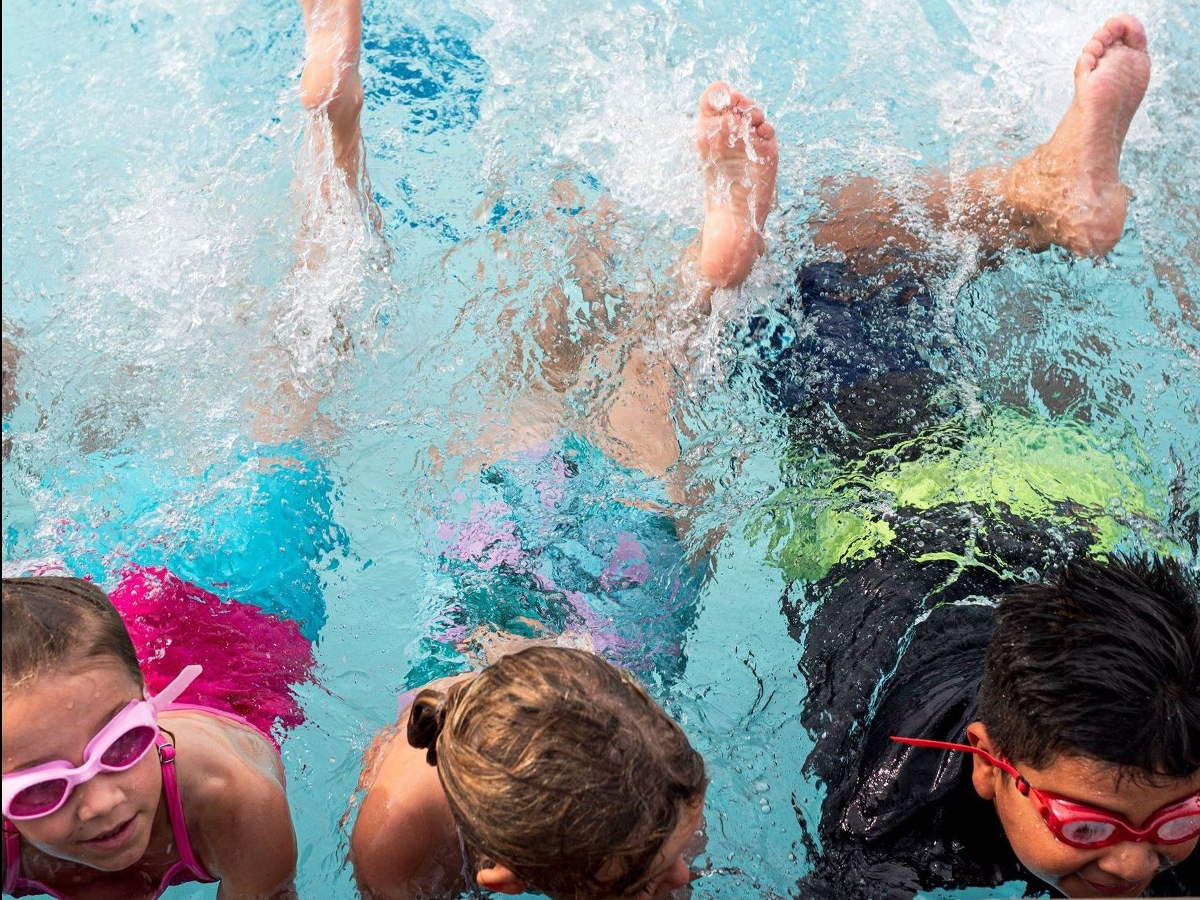 Swim Lessons at Pearson Park Pool