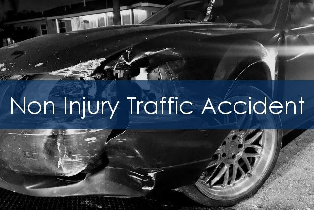 Non Injury Traffic Accident