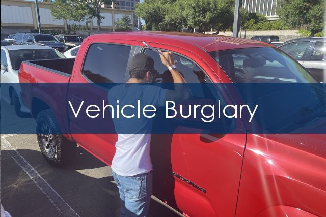 Vehicle Burglary
